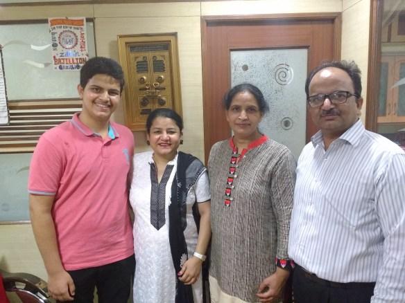 Anmol Singh Family