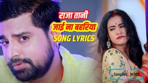 Raja tani jaaye na barharia song lyrics
