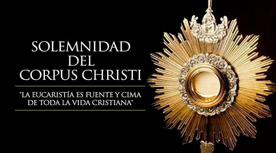 Corpus Christi. Hoja de oración.