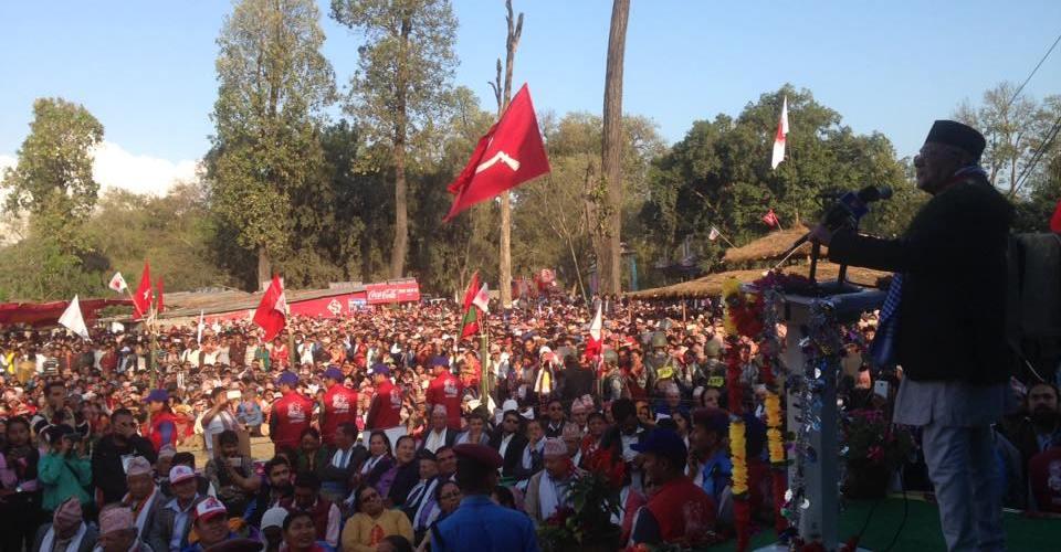 कञ्चनपुर घटनामा भारतले माफी नमागे नेपाली जनताले नछाड्ने नेकपा एमालेका अध्यक्ष केपी ओलीको चेतावनी