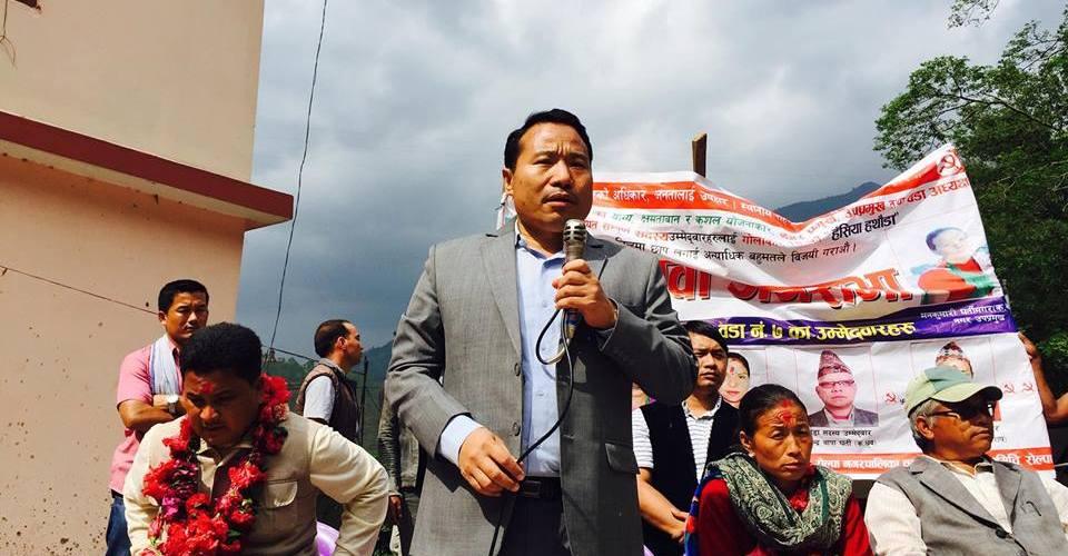 माओवादी नेताहरु रोल्पाका गाउँ गाउँमा समग्र समृद्धिसहितको एजेण्डा लागू गर्नेमा नेताहरुको जोड