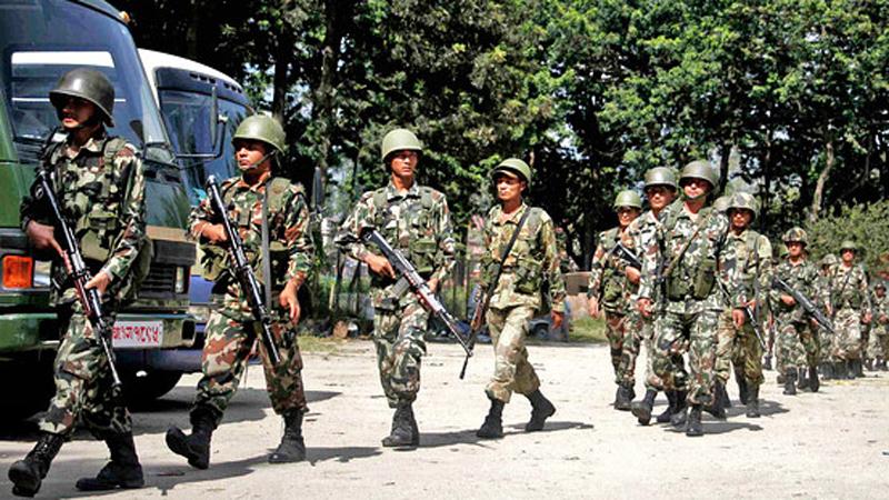 बिमस्टेक सुरक्षाको जिम्मेबारी सेनालाइ दिइयो, १८ हजार सुरक्षाकर्मी परिचालित हुने