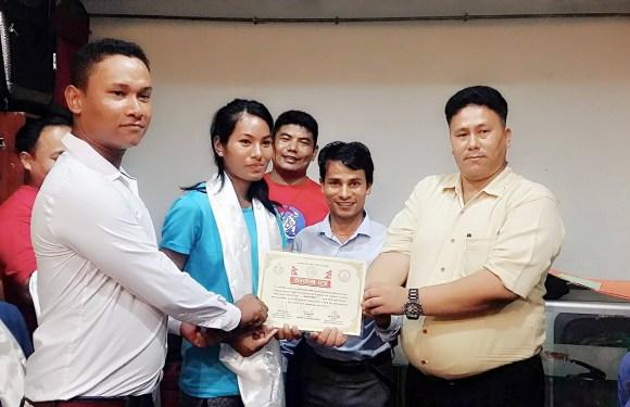 नेपाली तेक्वान्दो खेलाडीहरुलाई मलेसियामा सम्मान, नेपालकी अस्मिताले जितिन कांस्य पदक