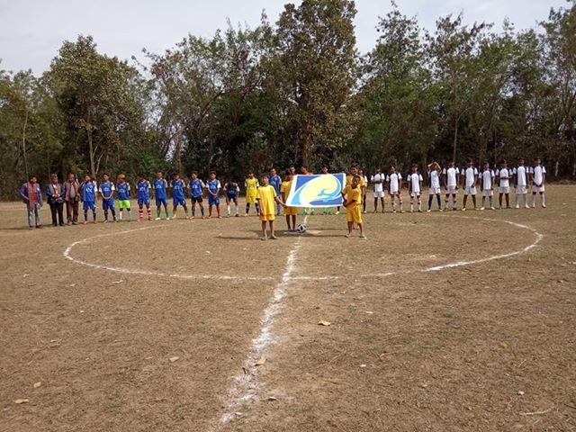 फिफाको नियममा प्रथम अध्यक्ष कप फुटबल प्रतियोगिताको दोस्रो चरण सेमिफाइनलको खेल सुरु