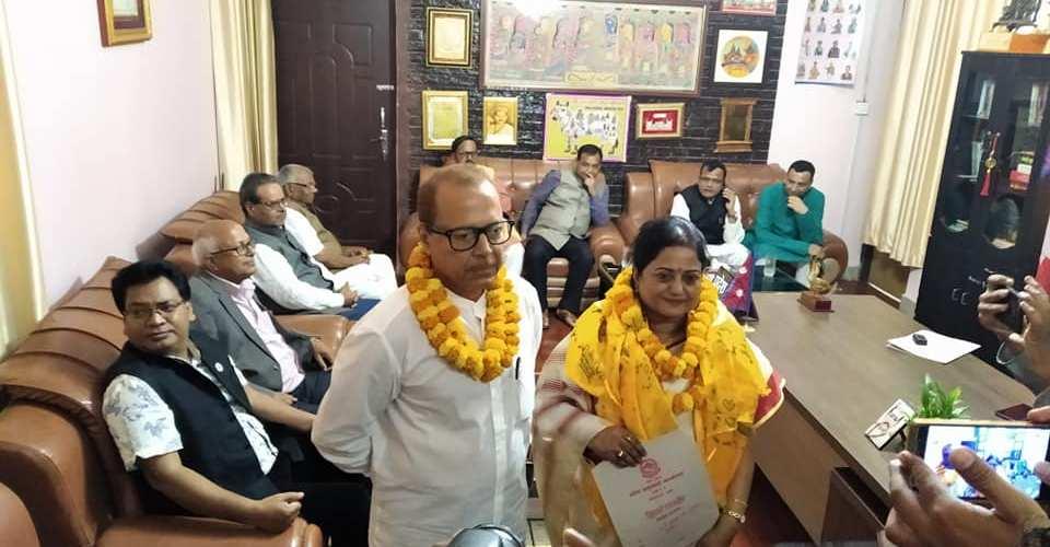 प्रदेश लोक सेवा आयोगको सद्स्यमा नियुक्त डा सुजाता देव र महारुद्र झाको शपथ ग्रहण सम्पन्न