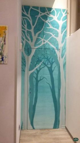pittura di base per gli alberi
