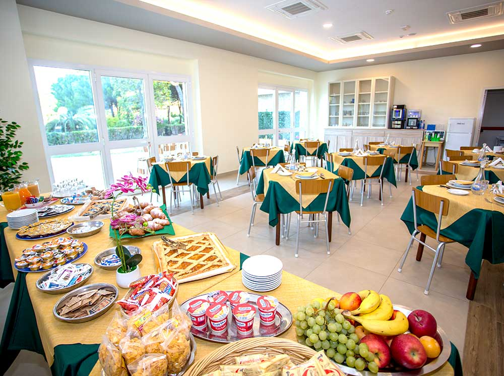 colazione casa San Giuseppe