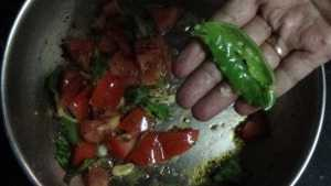 Paruppu rasam - green chilli