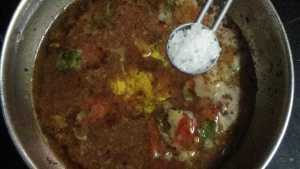 Paruppu rasam - salt