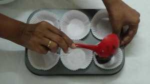 Chocolate cupcakes -fill