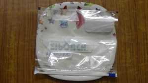 Ragi roti -plastic sheet