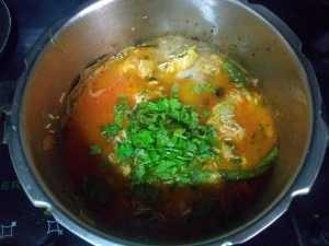 Hyderabad chicken biryani- coriander