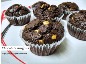 Chocolate cupcakes -feature
