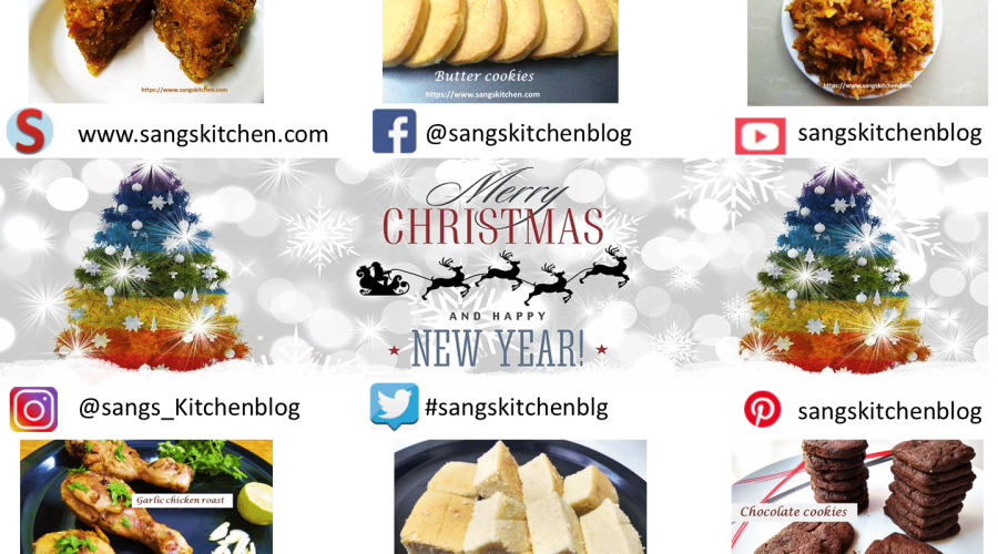 Christmas and New Year Recipes feature