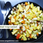 Peanut vegetable salad -thumbnail