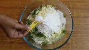 Cabbage pakoda -salt
