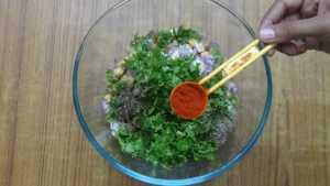 Falafel -chilli powder
