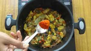 Prawn biryani -chilli powder