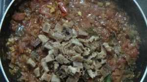 Karuvadu thokku -dry fish