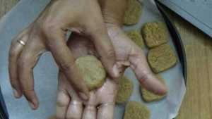 Oats cookies -shape