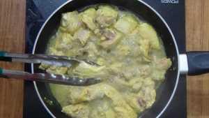 Chicken ghee roast -flip