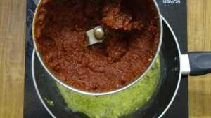 Chicken ghee roast -masala