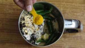 Mor kuzhambu -turmeric powder