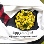 Egg poriyal -thumbnail
