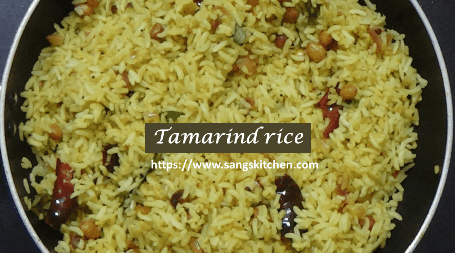 Tamarind rice -feature