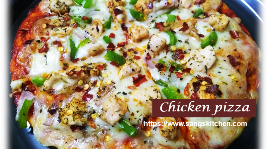 Chicken pizza -feature