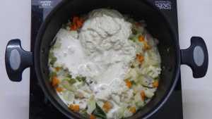 White kurma -mix