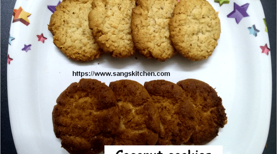 Coconut cookies -feature