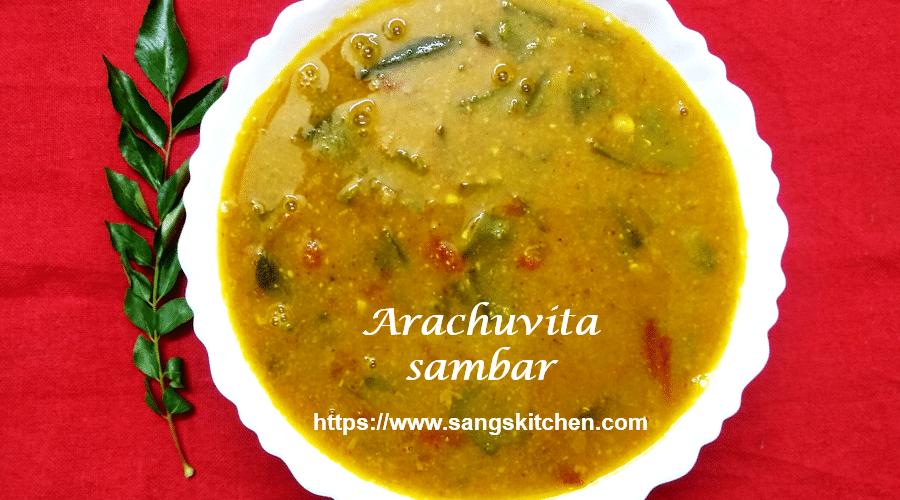Arachuvita sambar -thumbnail