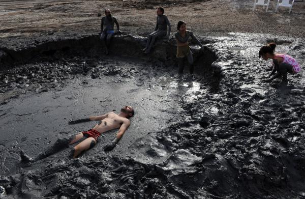 Barro del Mar Muerto