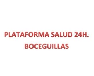 Plataforma de salud 24h Boceguillas (Segovia)
