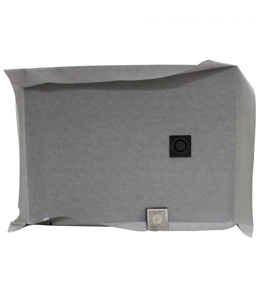 kit a carreler slim receveur rehausse x2 ciment