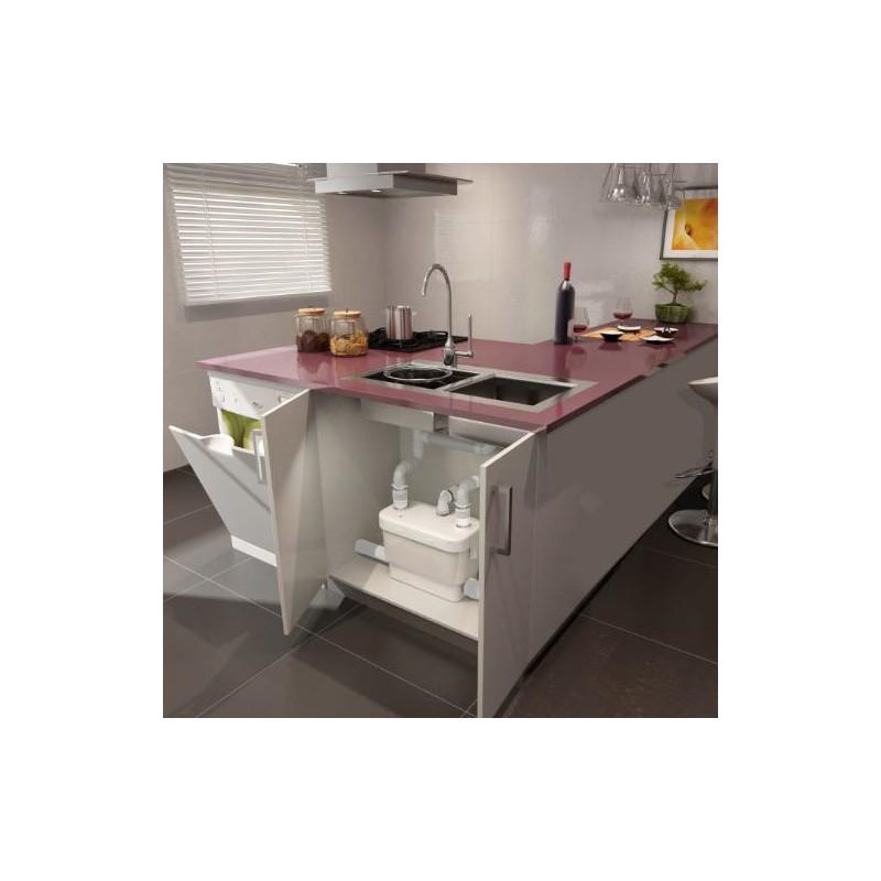 kitchen installation saniflo