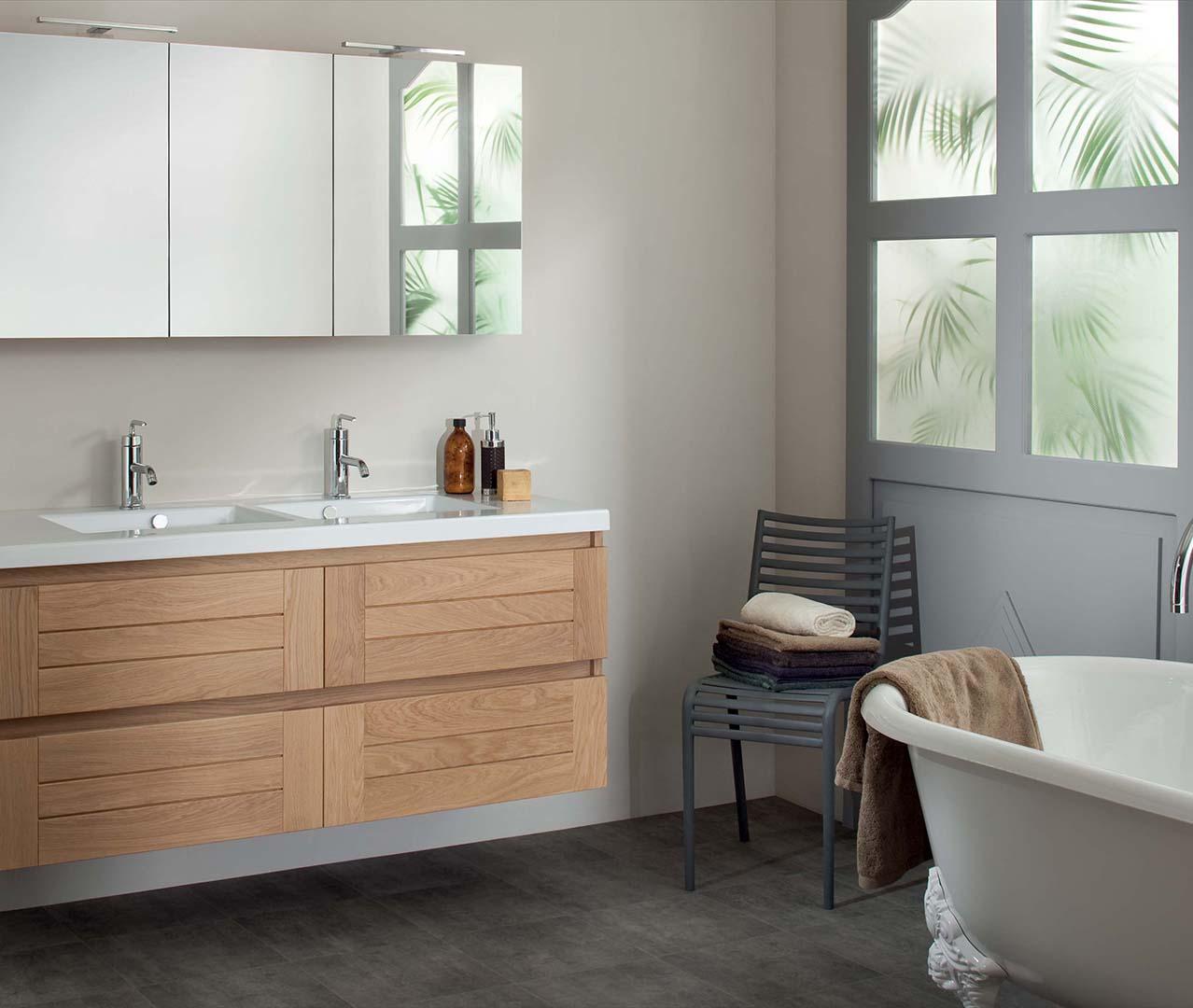 gamme essentiel meubles salle de bain