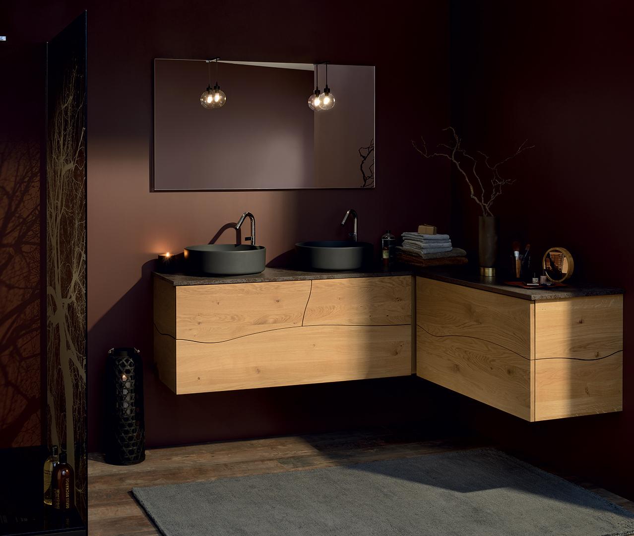 salle de bain bois meuble sdb sanijura