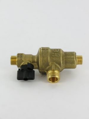 disconnecteur avec robinet