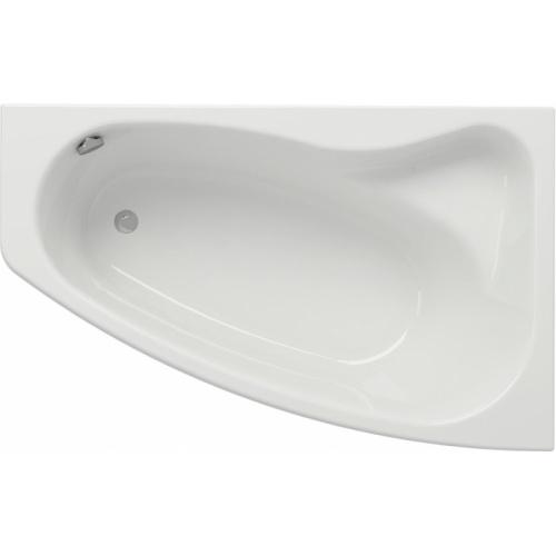 baignoire asymetrique droite 160x100 sicilia sans tablier
