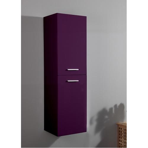 colonne de salle de bain saturn 2 0 135cm aubergine