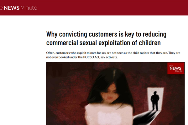 Why convicting customers is key to reducing commercial sexual exploitation of children