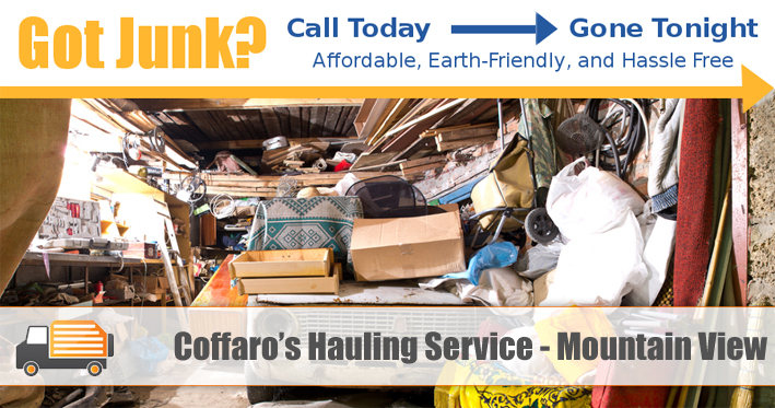 Junk Removal Mountain View - Coffaro's Hauling Service