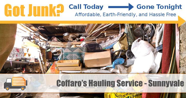 Junk Removal Sunnyvale - Coffaro's Hauling Service