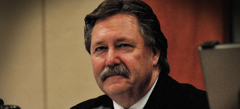 Beau Goldie resigned as CEO of the Water District on Friday. (Photo by Greg Ramar)