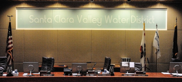 Internal emails show that Beau Goldie, CEO of the Santa Clara Valley Water District, did not have permission to amend contracts with a consultant. That's a much different story than what he told the district's board of directors last month. (Photo by Greg Ramar)