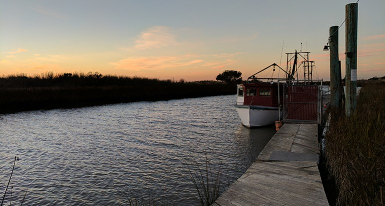 Alviso lies 15 feet below sea level.  (Photo by Jennifer Wadsworth)