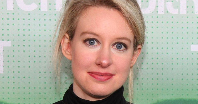 Theranos CEO Elizabeth Holmes had a horrible year, but she has only herself to blame.