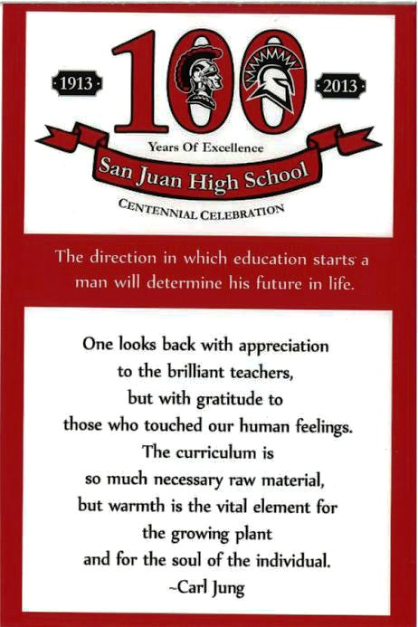 2013 San Juan High School Centennial Celebration